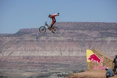 Kyle Strait of USA rides during finals at Red Bull Rampage in Virgin, Utah, USA on October 7, 2012.