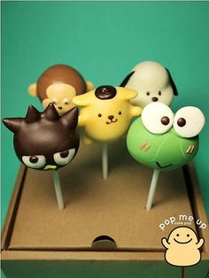 Cupcakes Take The Cake: All kinds of cute cake pops from Thailand's Pop Me Up
