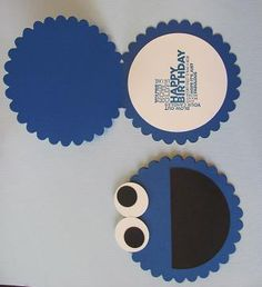 Cookie Monster Invite
