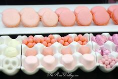 Pink Ombre Bridal Shower | CatchMyParty.com