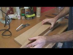 Scarf Joint Sanding Jig For Guitar Necks - YouTube