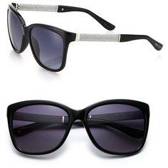 Designer Clothes, Shoes & Bags for Women Jimmy Choo Sunglasses, Glitter Glasses, Eyeglasses, Eyewear, Lens, Shoe Bag, My Style, Polyvore, Fairy
