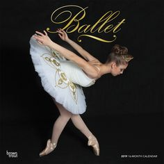 Ballet 2019 12 X 12 Inch Monthly Square Wall Calendar With Foil Stamped  Cover, Performance
