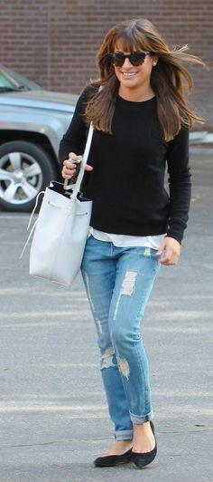 Lea Michele Street Style