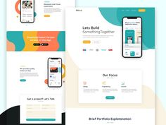 Hello Dribbblers, I'm much excited to share my first shot with the team I have tried to experiment on Mobile App Landing Page. Mobile Landing Page, Best Landing Pages, Template Web, Free Website Templates, Landing Page Inspiration, Website Design Inspiration, Web Design, Flat Design, Restaurant Website Design