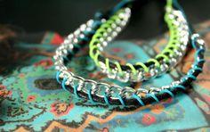 DIY chain cord bracelet