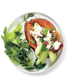 Holy guacamole, you can do a lot with avocados. Delicious on everything from salmon to sweet potatoes (and full of heart-healthy monounsaturated fats), they're simply smashing.