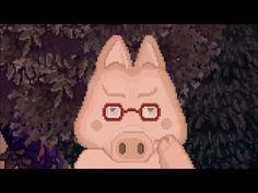 Lonely Lama design - game design - pixcel art - Pigsodus!