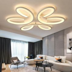 Ultra-thin art Surface Mounted Modern Led Ceiling Lights for Living room Bed room lamparas de techo led Ceiling lamp fixtures . Bed In Living Room, Home Ceiling, Modern Home Interior Design, Interior, Modern Led Ceiling Lights, Living Room Lighting, Ceiling Light Design, Ceiling Design Living Room, Living Room Designs