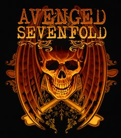 Avenged Sevenfold - Classic rock music concert psychedelic poster ~ ☮~ღ~*~*✿⊱  レ o √ 乇 !! ~