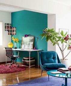 cor escritório no quarto
