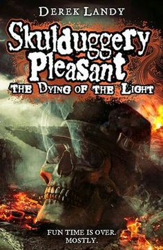 Ladies and gentleman, the cover of Skulduggery Pleasant: The Dying of the Light. OMG this cover is beautiful and heart-breaking all at the same time!!!! I can't believe the end is coming already!!! I feel like my heart is slowly being pried apart...