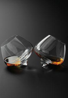 Normann Copenhagen Cognac glasses (set of 2) - Tuba TANIK