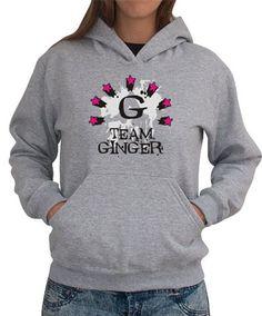 Team Ginger - Initial Women Hoodies