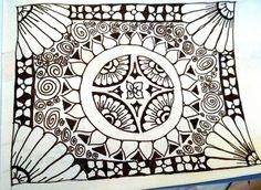 #Art zentangle design