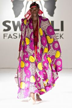 Swahili Fashion Week Spring/Summer 2013 [Day 1] : Tanzania Mtindo House | Haute Fashion Africa