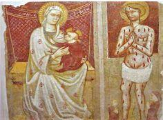 Fidenza arte e storia: L'affresco della chiesetta di San Lazzaro a Fidenz...