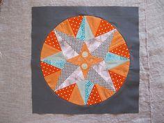 Circle quilting square