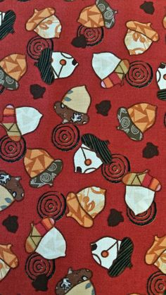 #cottonfabric #fallfabric A WALK in the WOODS Acorn Swirl Quilt quality In