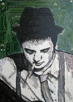 "Saatchi Art Artist andrea boriani; Painting, ""Pete"" #art"