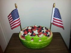4th of July watermelon dessert