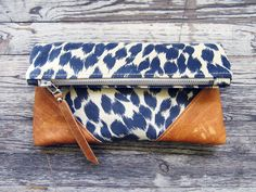 Oh i so badly want this! Scout & Catalogue — +Sold Out+ LIBRO CLUTCH - CHEETAH