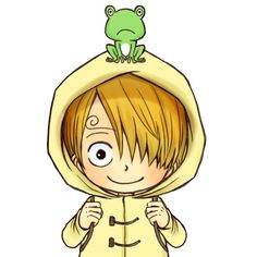 One Piece, Sanji, OMG so cute