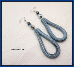 Multi listing BLUE OOAK earrings listing is for one by TNETTE3, $15.00