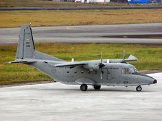 CASA C-212 Aviocar de la Fuerza Aérea Colombiana en Medellín (Rionegro)