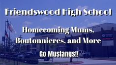 Friendswood High School Homecoming Mums | Football Garters, Boutonnieres...