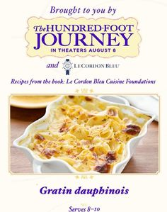 "RT @MyCouportiera ""Scalloped Potatoes Recipe http://wp.me/p3RSzr-v9  #100FOOTJOURNEY pic.twitter.com/zMmr4JKeIS"" #100FootJourneyEvent"