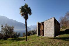 Isola Comacina, la casa atelier progettata da Pietro Lingeri nel 1933