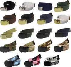 ArmyUniverse Camouflage/Solid Colors 100% Cotton Military Web Belts #WebBelts #CottonBelt #MilitaryBelts