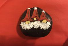 Gnomes #rockart #paintedrocks #rockpainting