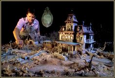 Ravenswood Manor - The Making of Phantom Manor Haunted Dollhouse, Haunted Mansion, Disney Land, Disney Parks, Disneyland Map, Hatbox Ghost, Walt Disney Imagineering, Disney Concept Art, Walt Disney Company