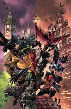 BATMAN AND ROBIN ETERNAL #1 - Story and script by JAMES TYNION IV and SCOTT SNYDER Art and cover by TONY S. DANIEL