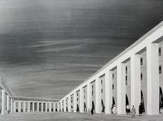 «Maybe for the first time in the modern era we had men inhabit a monument. Those men, the poorest ones of poor Algeria, understood that: it was them who named the large square 'The Two Hundred Columns'» The production of French architect Fernand Pouillon in Algiers is extensive and renowned...