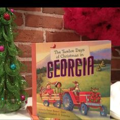 The Twelve Days of Christmas in Georgia book. Available at Sara Jane's Childrens Boutique. #Savannah, GA
