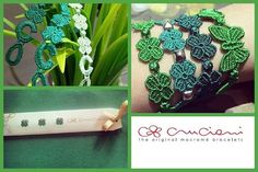 #cruciani #armband #sommer #green www.armband-cruciani.de
