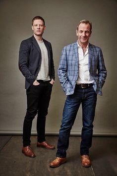 James Norton and Robson Green