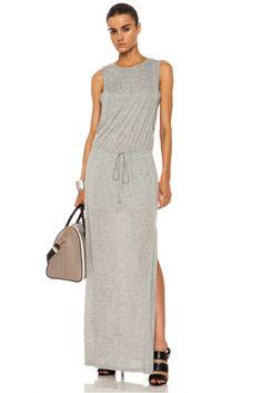 A.L.C.|Brook Viscose Dress in Heather Grey [1]