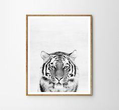 Tiger print, Nursery, Animal, Kids room, Modern art, Wall decor, Digital art, Printable, Digital poster Instant Download 8x10, 11x14, 16x20 INSTANT