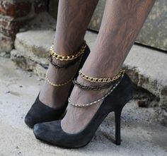 diy ankle jewelry