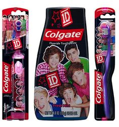 weird one direction merchandise. Because it just wake up in the morning and say.. So glad I have my 1D toothpaste to start the day off right??