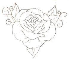 Rose Tattoo 1 by ~Metacharis on deviantART