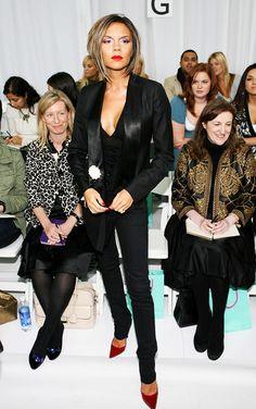 Victoria Beckham at Matthew Williamson, 2007 via @WhoWhatWear