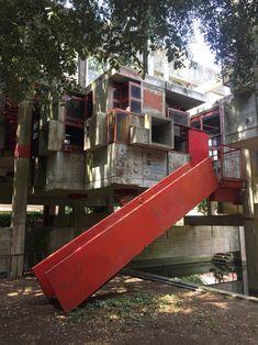 guiseppe perugini ruin of his experimental house fregene Italy