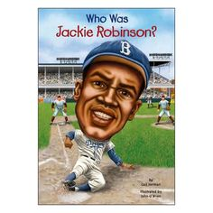 """8 - 11 years. As a child, Jackie Robinson loved sports. He was a natural at football, basketball, and, of course, baseball. But beyond athletic skill, it was his strength of character that secured his place in sports history. In 1947 Jackie joined the Brooklyn Dodgers, breaking the long-time color barrier in major league baseball. It was tough being first--not only did """"fans"""" send hate mail but some of his own teammates refused to accept him. Here is an inspiring sports biography, w..."""