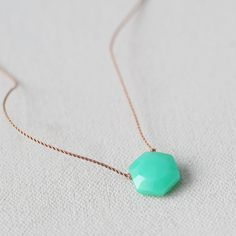 Australian Chrysoprase Pendant Necklace ($68) ❤ liked on Polyvore featuring jewelry, necklaces, green, strand necklace, layered pendant necklace, bib necklaces, green pendant necklace and clasp necklace