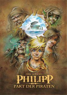 Buchtipp: Philipp - Pakt der Piraten: Teil 1 von Dirk Schaary  In der Nacht durchpflügt ein Sturm das Meer. Grelle Blitze, Donnergrollen und meterhohe Wellen. Mittendrin ein wimmernder Säugling: Philipp. Er strandet auf einer Insel, die kein Mensch kennt, umgeben von einzigartiger Natur. Ein Paradies. Behütet von Laea und ihrer Sippe. Alles scheint perfekt.  #Buchtipp #indieautor #Buch #lesen